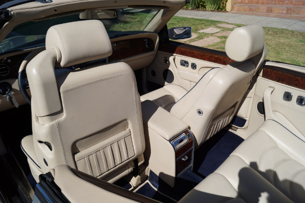 Used 1999 Bentley Azure Parchment with Blue Piping   Torrance, CA