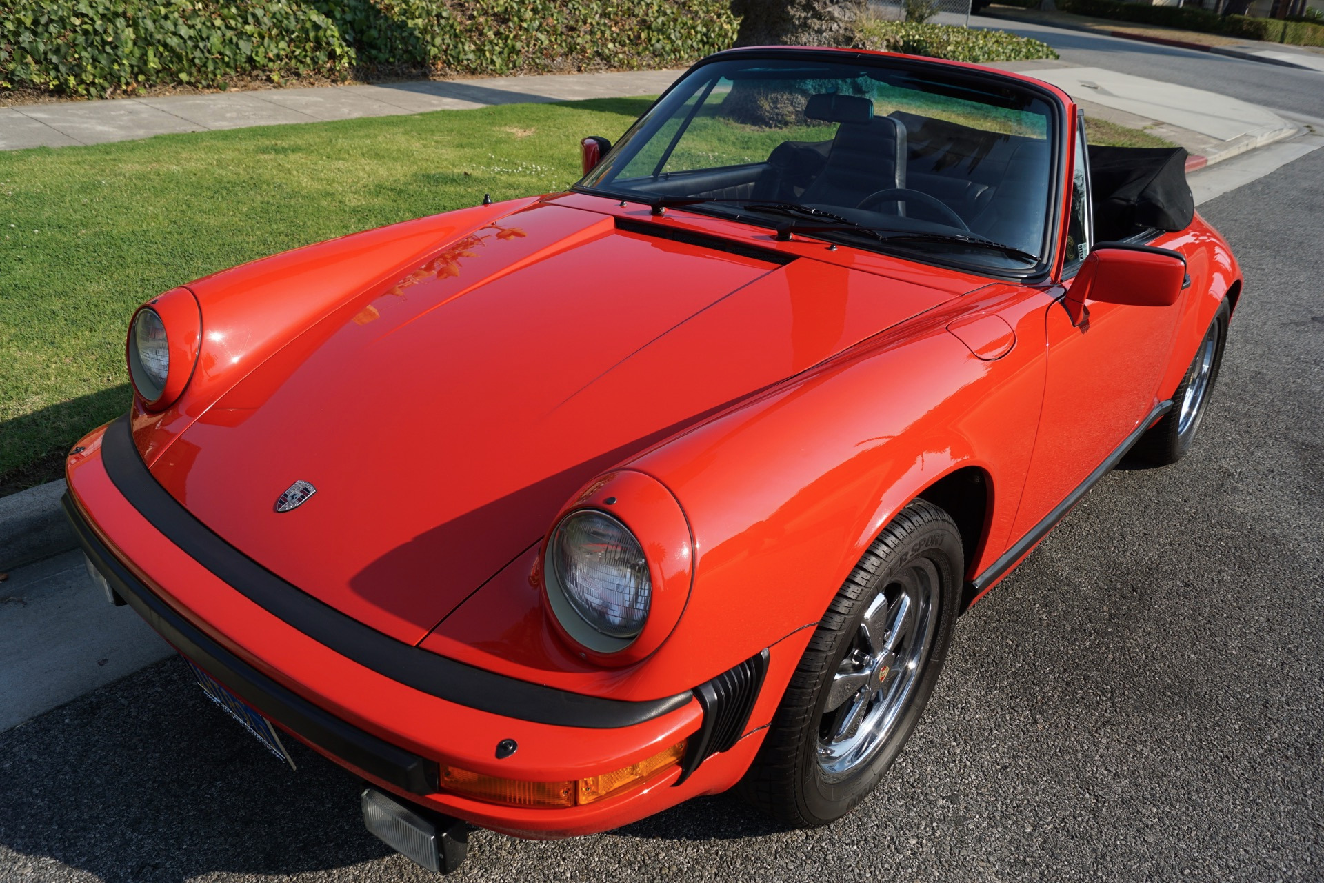 1983 Porsche 911SC Cabriolet Black Leather Stock # 502 for sale ...