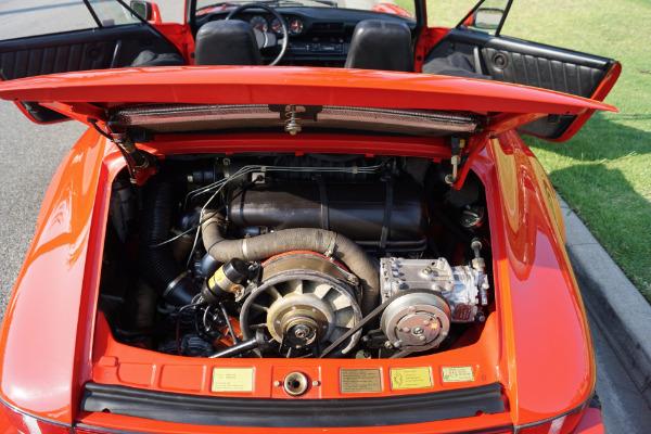 Used 1983 Porsche 911SC Cabriolet Black Leather | Torrance, CA
