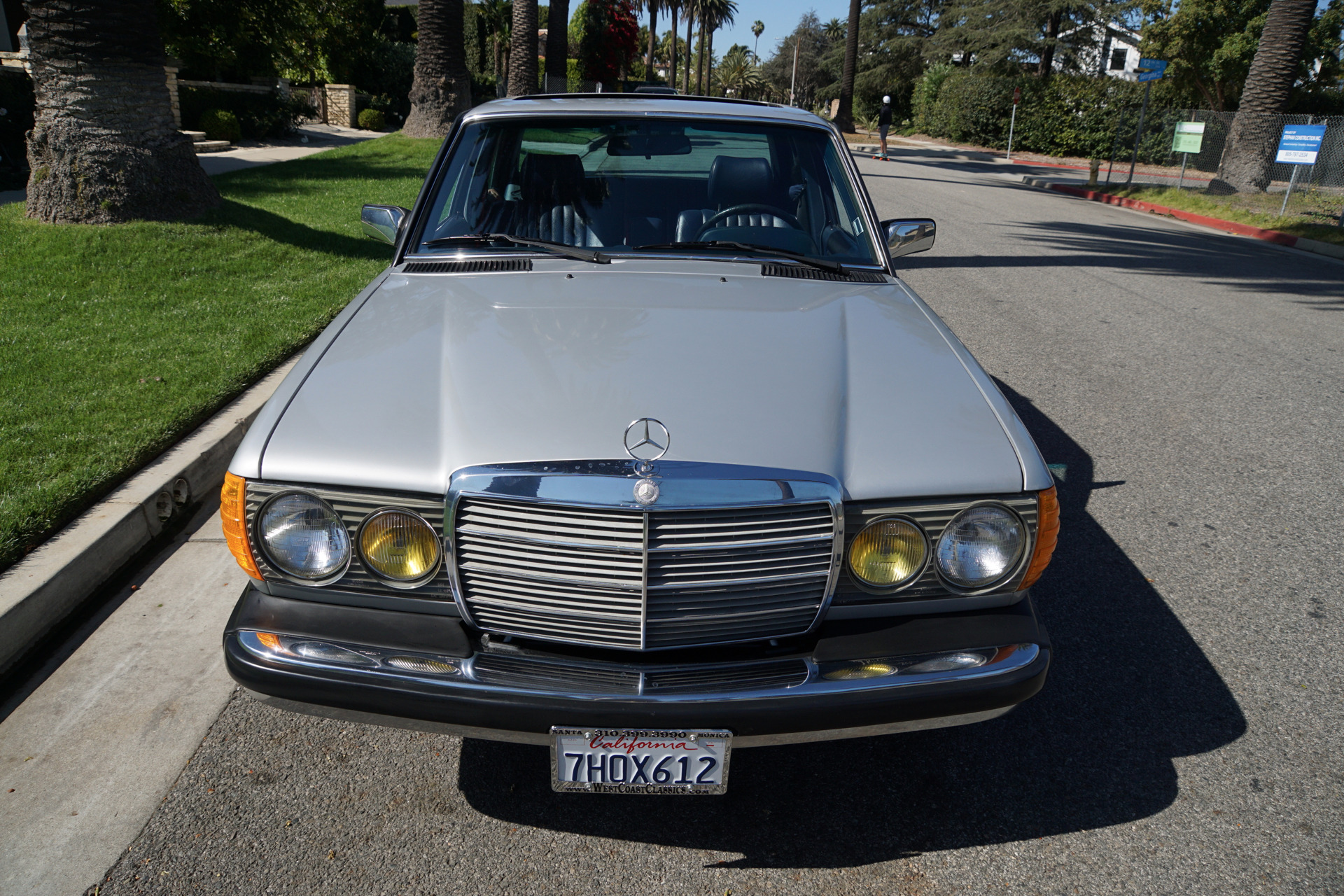 1985 mercedes benz 300 turbo diesel sedan 300 d stock for Mercedes benz of torrance
