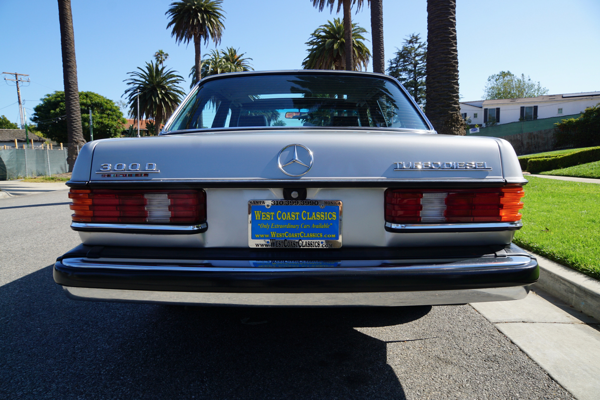 1985 mercedes benz 300 turbo diesel sedan 300 d stock for Mercedes benz repair torrance ca