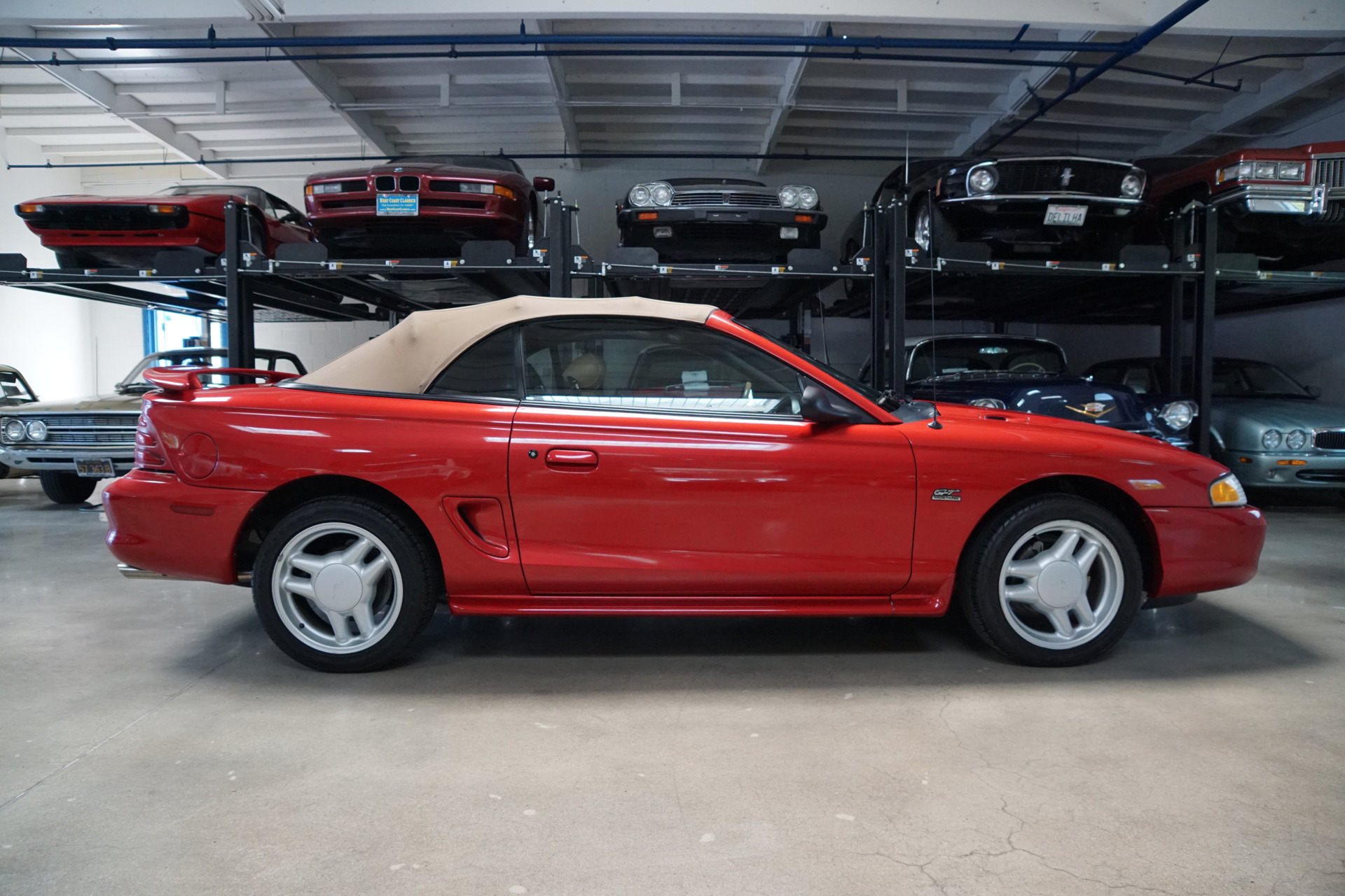 1995 ford mustang gt 5 0l v8 convertible gt stock 136. Black Bedroom Furniture Sets. Home Design Ideas