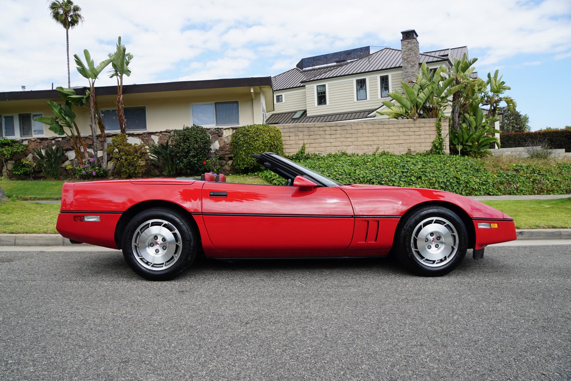 1986 Chevrolet Corvette Convertible Stock # 971 for sale ...