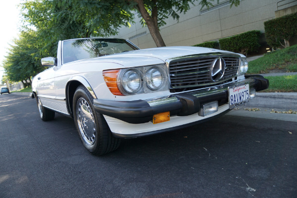 Used 1987 Mercedes-Benz 560SL V8 Convertible 560 SL | Torrance, CA