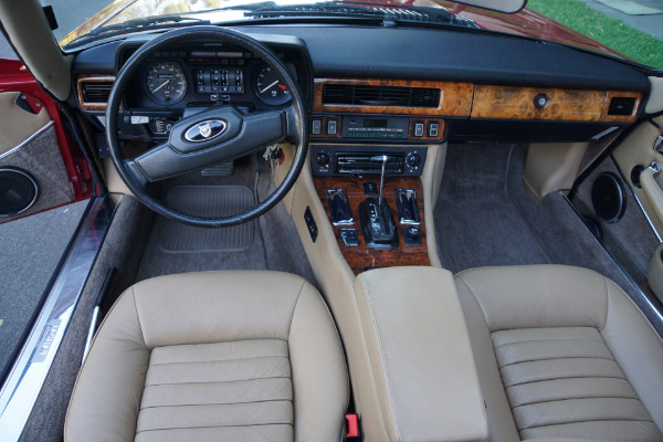 Used 1988 Jaguar XJS V12 Convertible with 22K orig miles XJS | Torrance, CA
