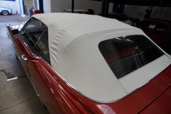 Used 1976 Cadillac Eldorado Convertible Red Leather   Torrance, CA