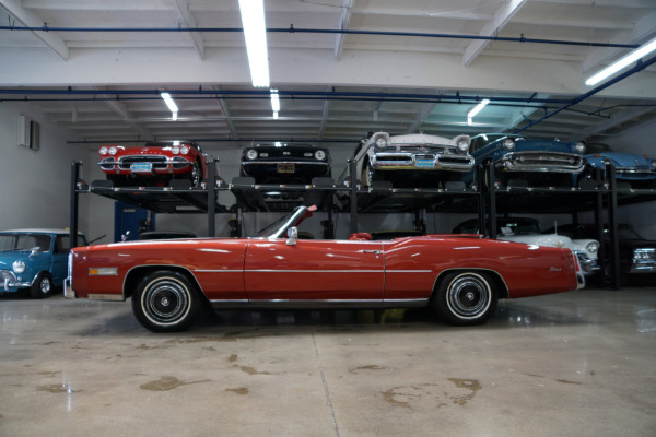 Used 1976 Cadillac Eldorado Convertible Red Leather | Torrance, CA