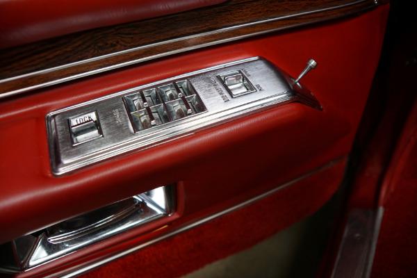 Used 1976 Cadillac Eldorado Convertible Red Leather | Torrance, CA