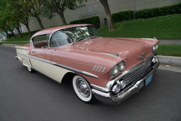 Used 1958 Chevrolet Impala 348 3X2 BBL V8 Hardtop  | Torrance, CA