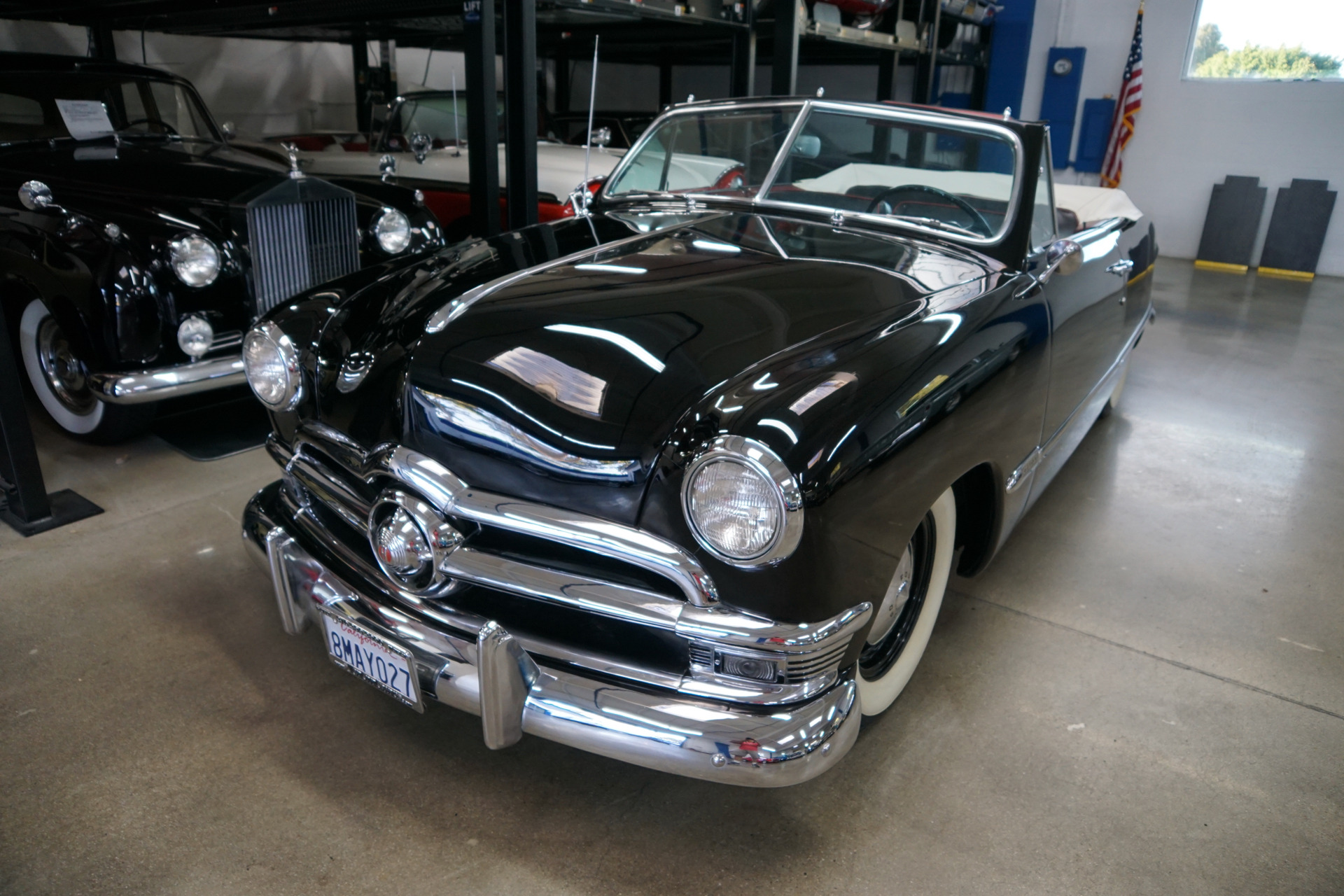 1950 Ford Custom Deluxe 239 V8 Convertible With 3 Spd O D Dual Carbs Stock 105880 For Sale Near Torrance Ca Ca Ford Dealer