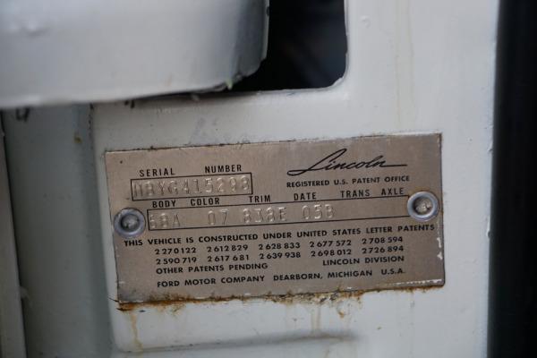 Used 1958 Lincoln Continental Mark III 430/375HP V8 Convertible Mark III | Torrance, CA