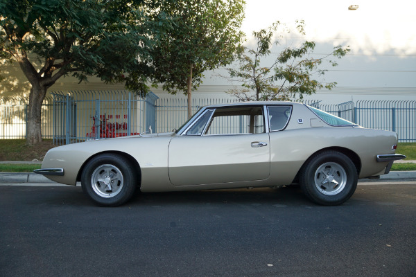 Used 1963 STUDEBAKER AVANTI R2 289/289HP SUPERCHARGED V8 4 SPD MANUAL COUPE R2 SUPERCHARGED 4 SPD MANUAL | Torrance, CA