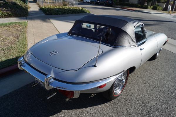 Used 1970 Jaguar Series II E-Type Light Gray Leather | Torrance, CA
