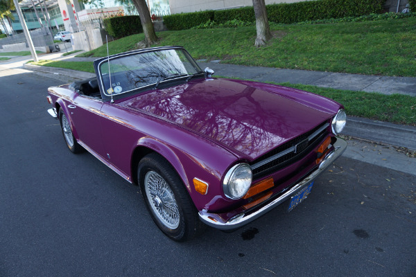 Used 1973 Triumph TR6 with 33K original miles!  | Torrance, CA