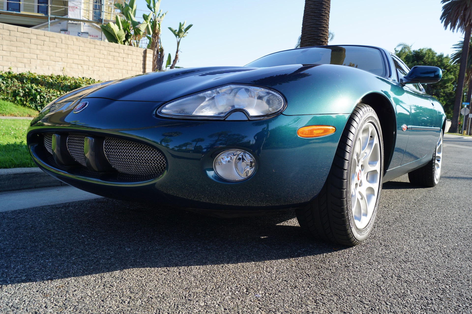 2002 jaguar xkr supercharged coupe cashmere leather stock 283 for sale near torrance ca ca. Black Bedroom Furniture Sets. Home Design Ideas