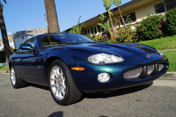 Used 2002 Jaguar XKR Supercharged Coupe Cashmere Leather | Torrance, CA