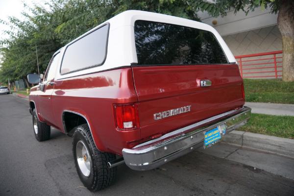 Used 1978 Chevrolet K5 Blazer 4x4 V8 SUV  | Torrance, CA