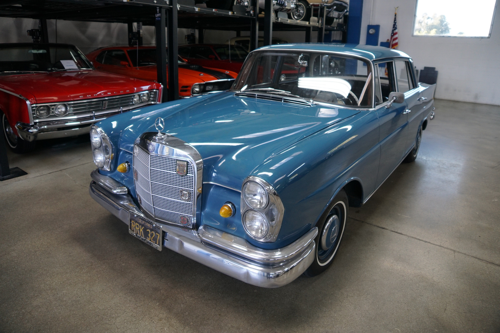 Used 1961 Mercedes-Benz 220B Sedan Heckflosse Fintail Sedan  | Torrance, CA
