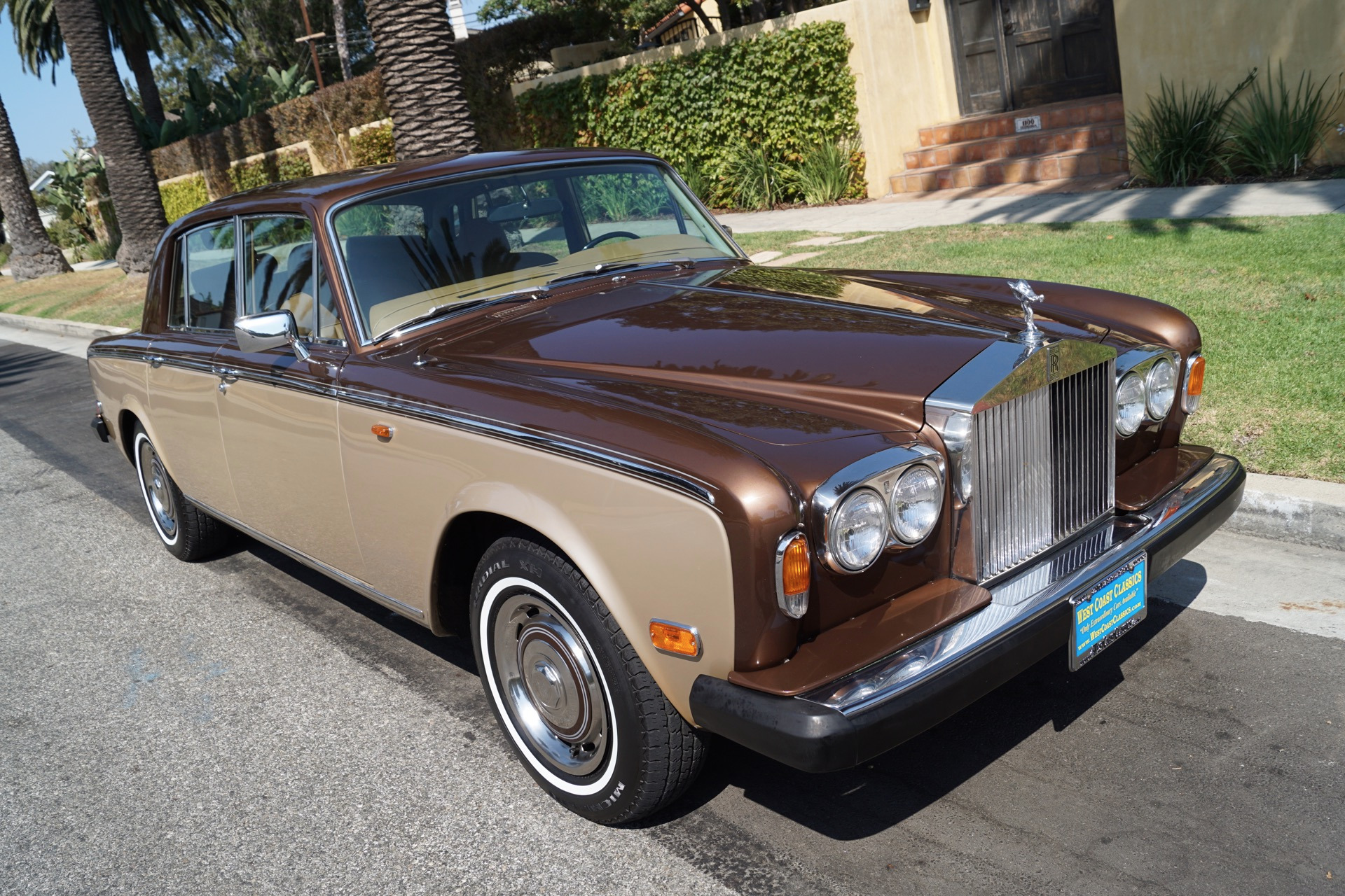 1979 rolls royce silver shadow ii tan leather stock 782. Black Bedroom Furniture Sets. Home Design Ideas