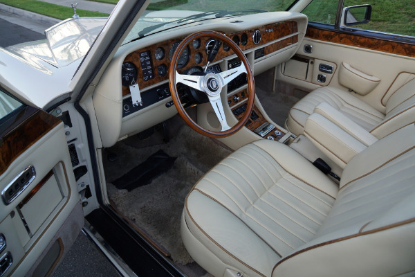 Used 1988 Rolls-Royce Corniche II Drop Head Coupe with 34K original miles  | Torrance, CA