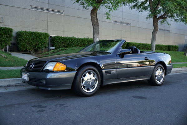 Used 1994 Mercedes-Benz SL600 V12 Roadster with 22K original miles SL 600 | Torrance, CA