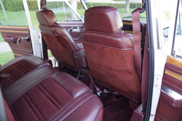 Used 1989 Jeep Grand Wagoneer 4WD 5.9L V8 SUV WITH ONE CA OWNER SINCE NEW & 42K ORIG MILES    Torrance, CA