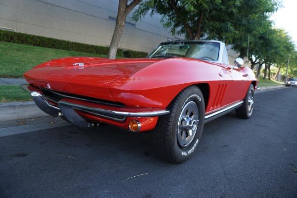 Used 1965 Chevrolet Corvette L76 327/365HP V8 4 spd    Torrance, CA