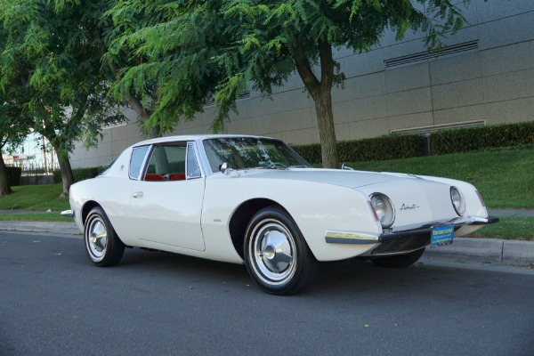 Used 1963 Studebaker Avanti R2 289/289HP V8 Supercharged with rare 4 spd manual trans  | Torrance, CA