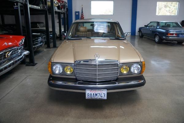 Used 1983 Mercedes-Benz 300D Turbo Diesel Sedan with 110K original miles 300 D | Torrance, CA
