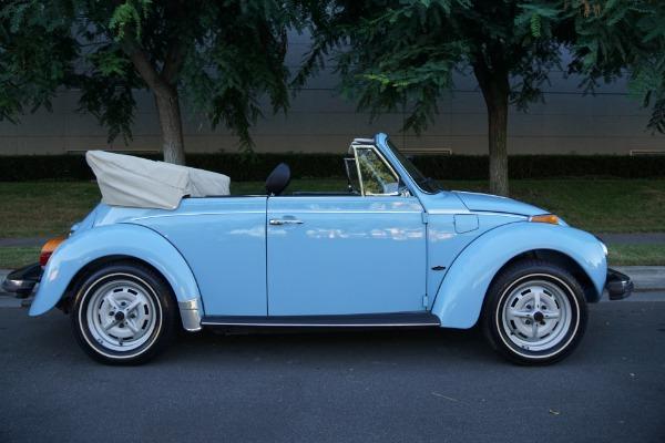 Used 1979 Volkswagen Super Beetle Convertible with 94 original miles! (yes under 100)  | Torrance, CA