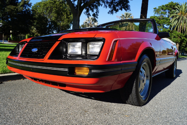 Used 1983 Ford Mustang GLX Opal & Red | Torrance, CA