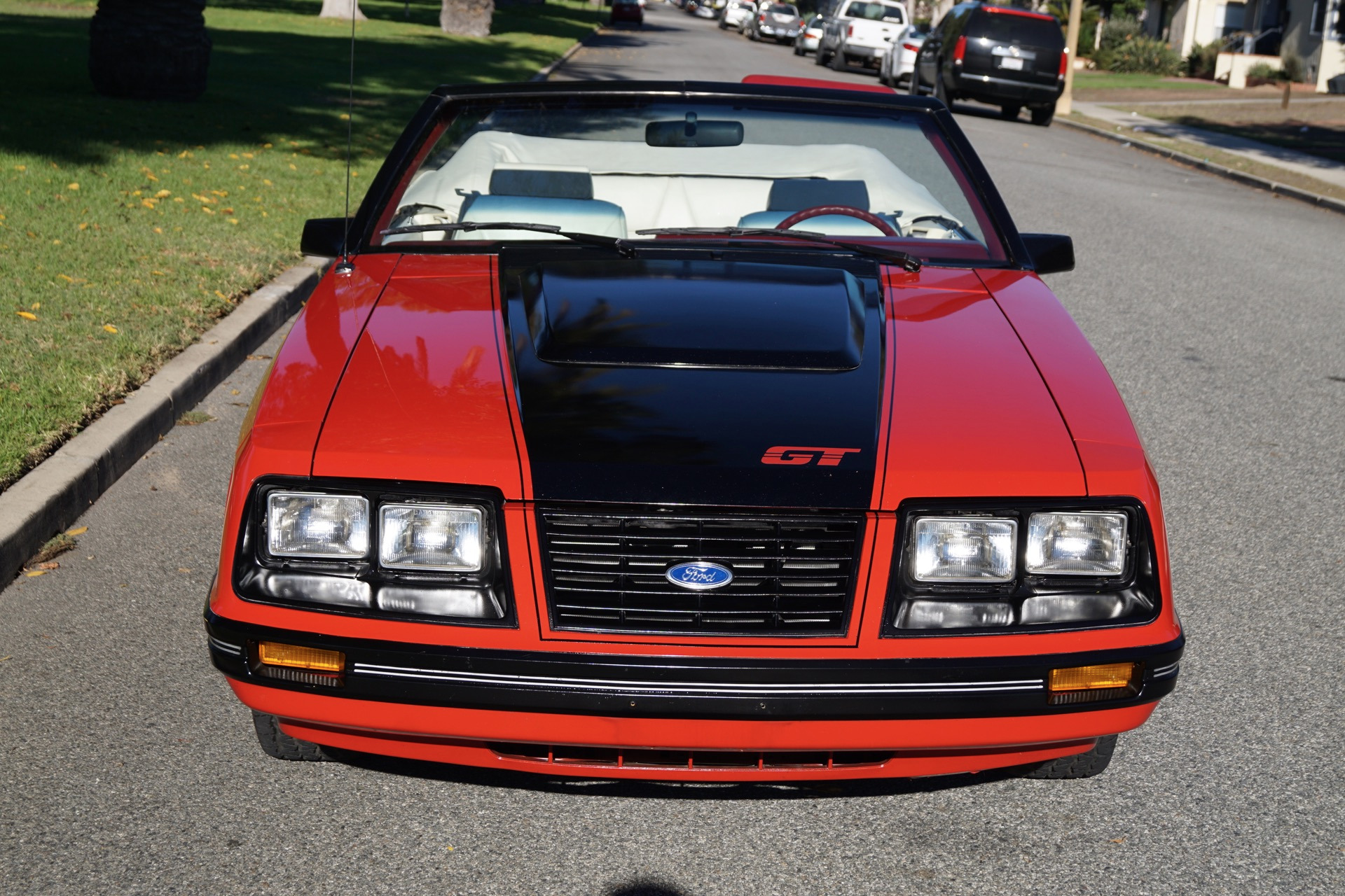 1983 ford mustang glx opal red stock 293 for sale near. Black Bedroom Furniture Sets. Home Design Ideas