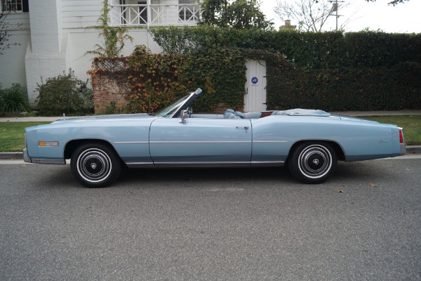Used 1976 Cadillac Eldorado Antique Light Blue Leather | Torrance, CA
