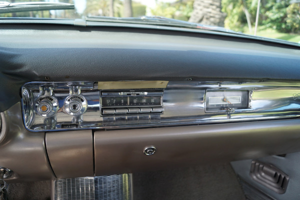 Used 1957 Cadillac Coupe de Ville Silver Brocade Pattern Cloth & Black Leather | Torrance, CA