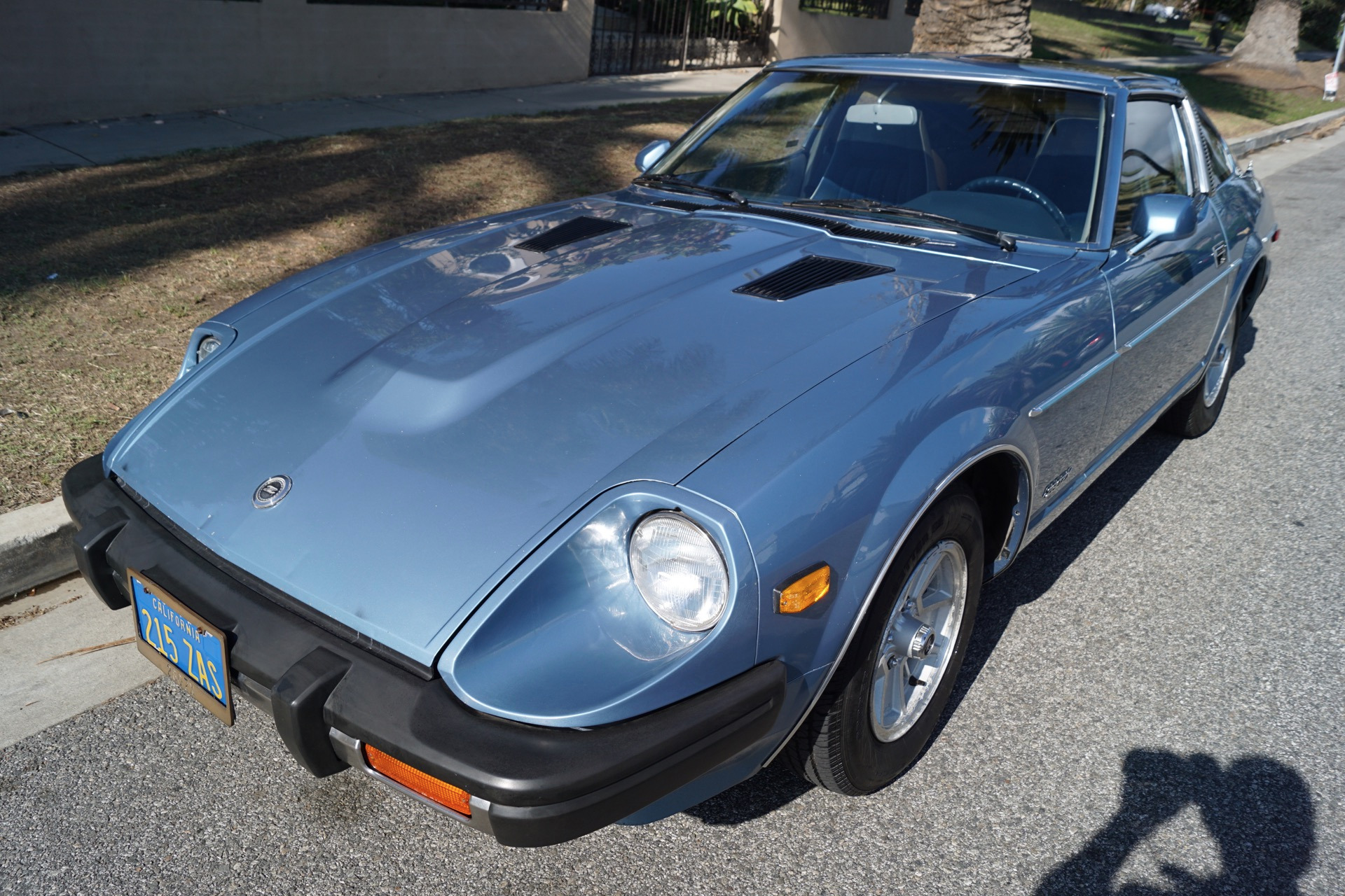 1980 Datsun 280zx Blue Cloth Stock 594 For Sale Near Torrance Ca