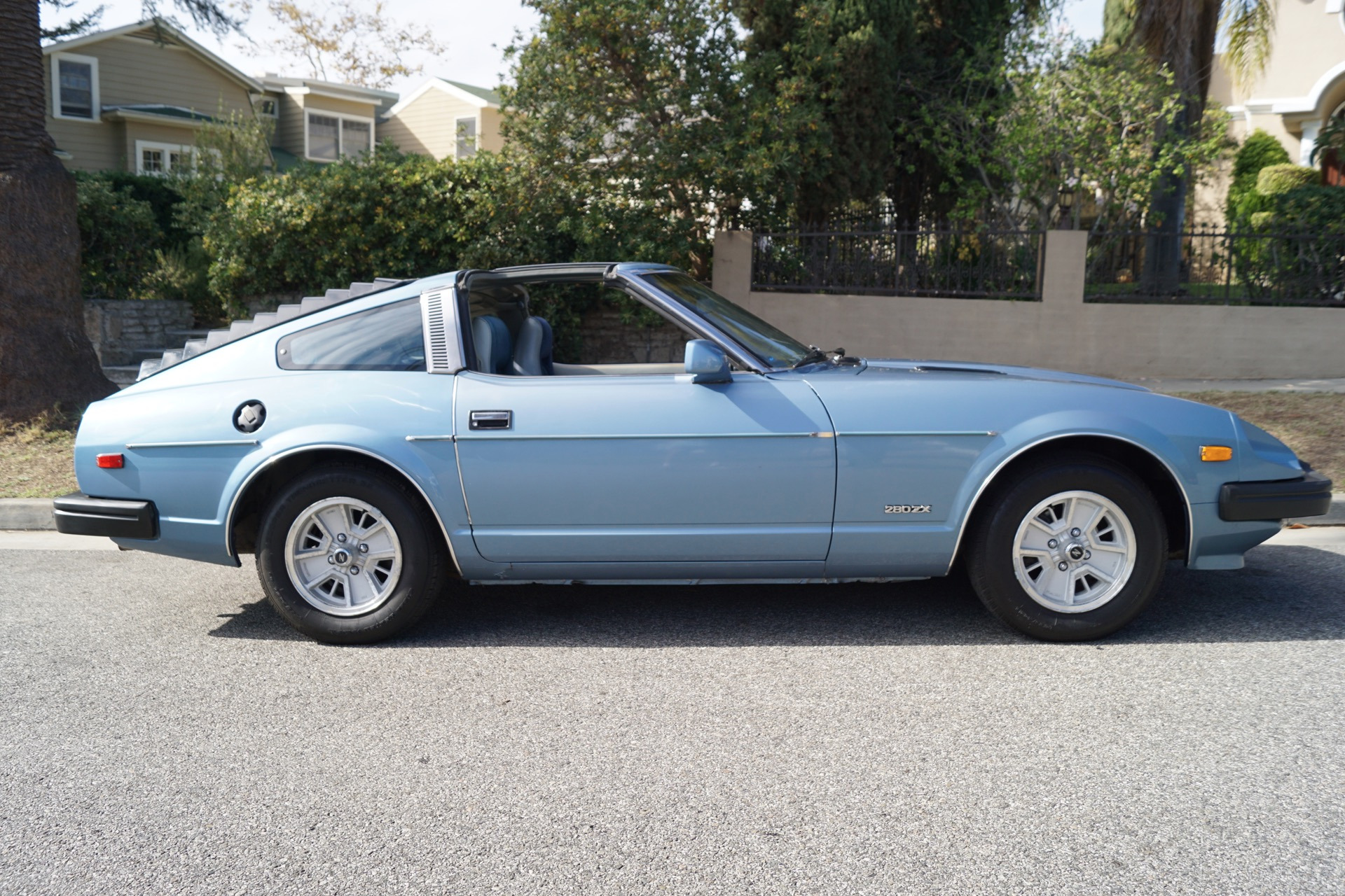 1980 datsun 280zx blue cloth stock 594 for sale near torrance