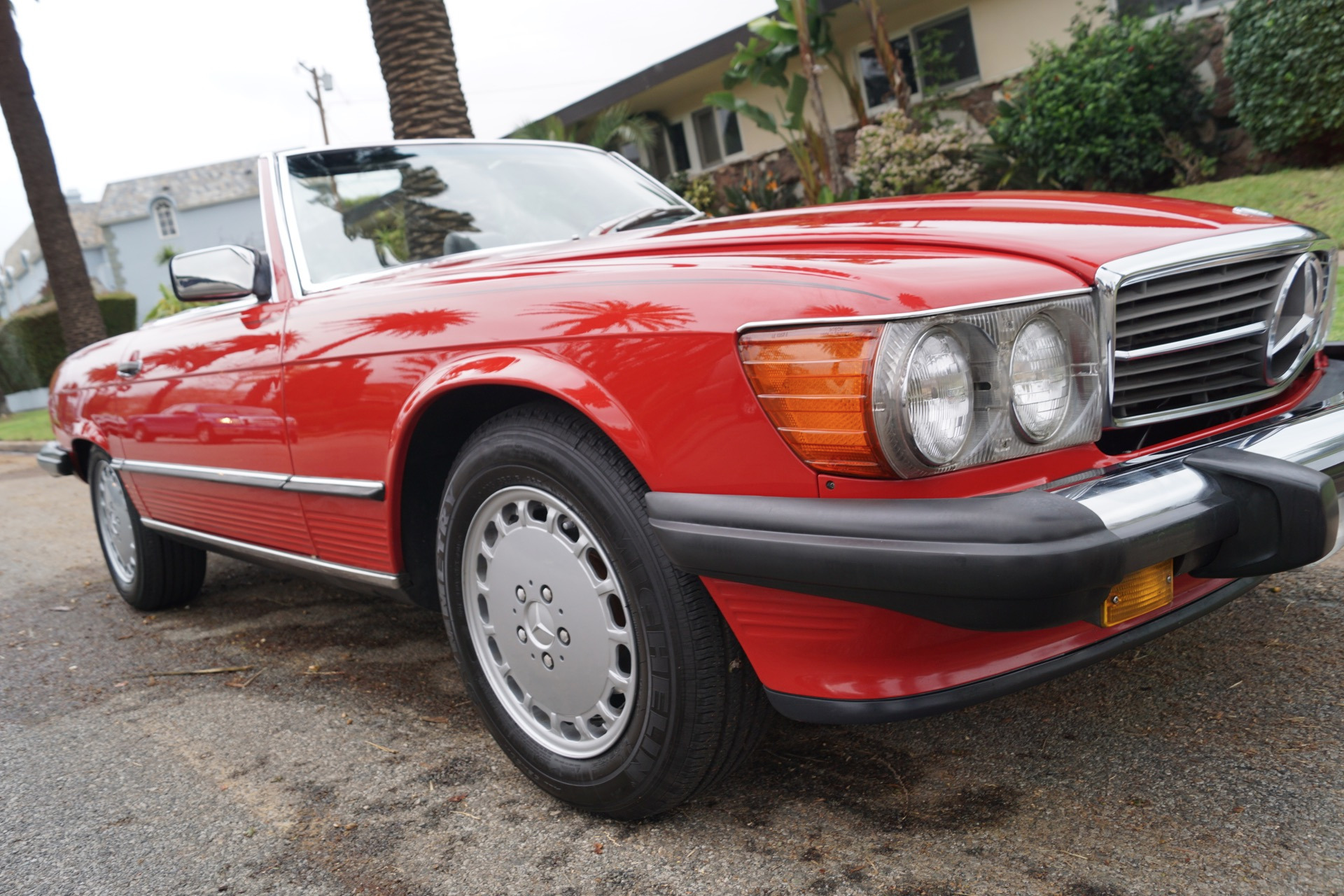 1988 mercedes benz 560 class 560sl stock 855 for sale for Mercedes benz torrance