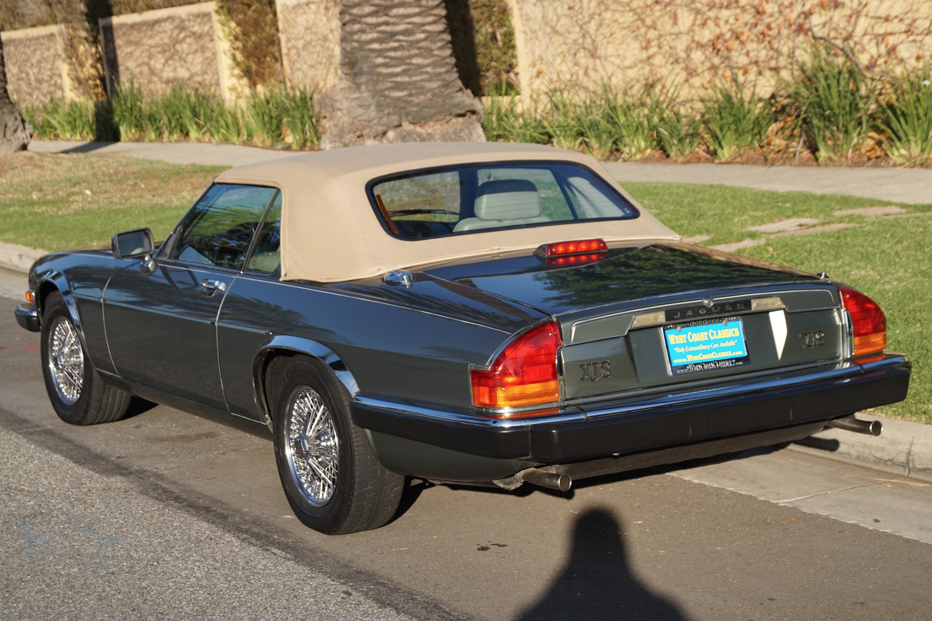 1990 Jaguar XJ-Series XJS V12 ROADSTER XJS Stock # 968 for ...