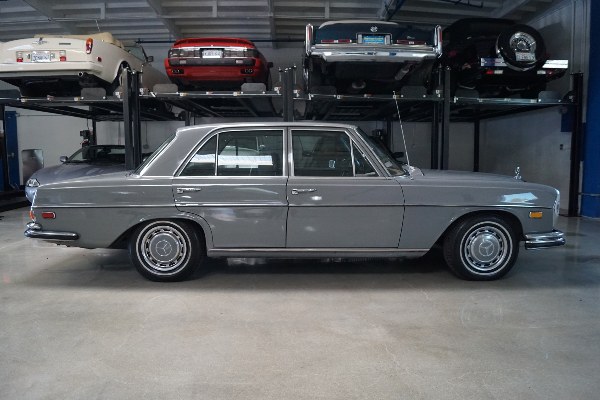 1972 Mercedes Benz 280se 4 5 Leather Stock 103 For Sale