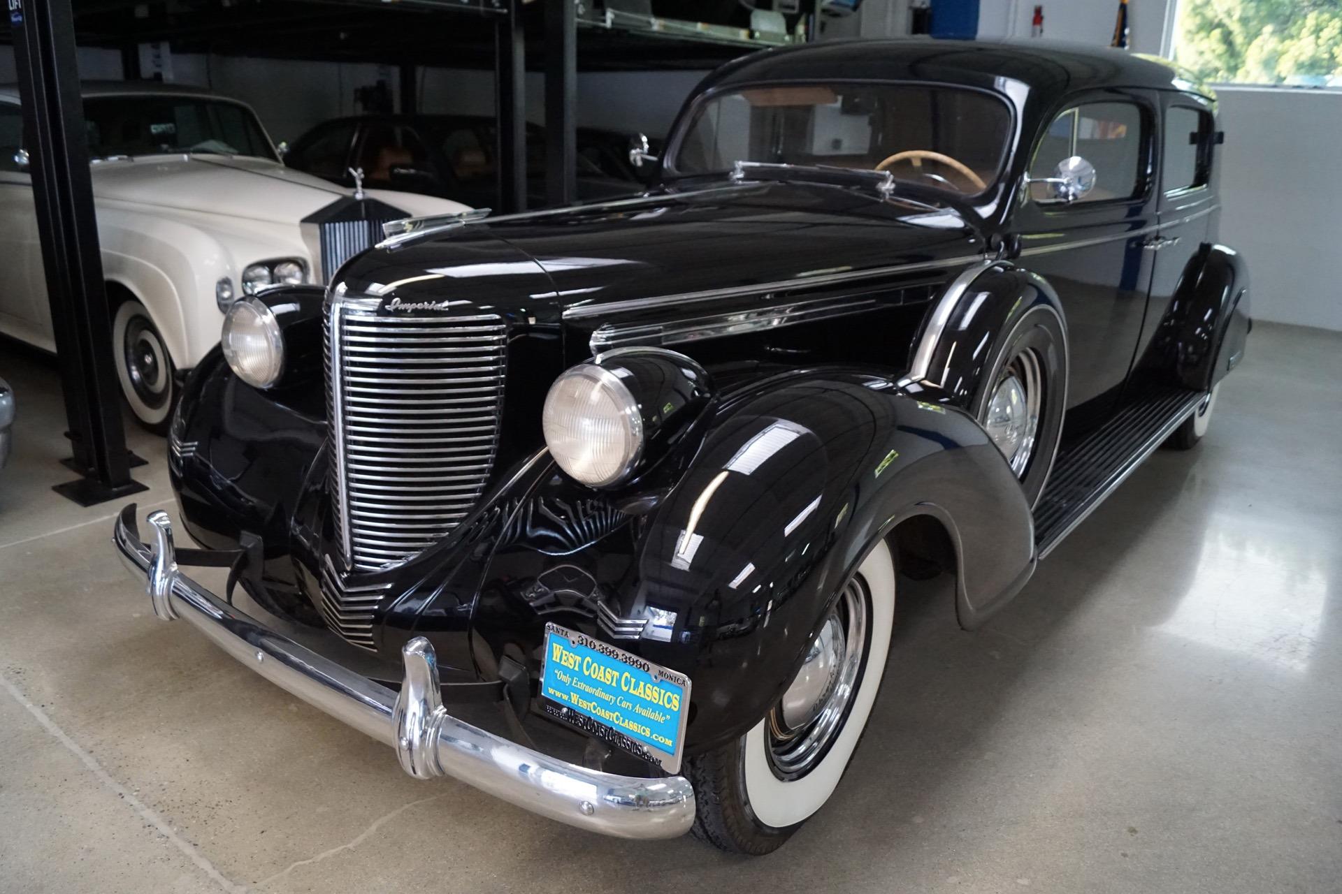 1938 chrysler custom imperial c20 limousine sedan limousine coachwork stock 188 for sale near. Black Bedroom Furniture Sets. Home Design Ideas