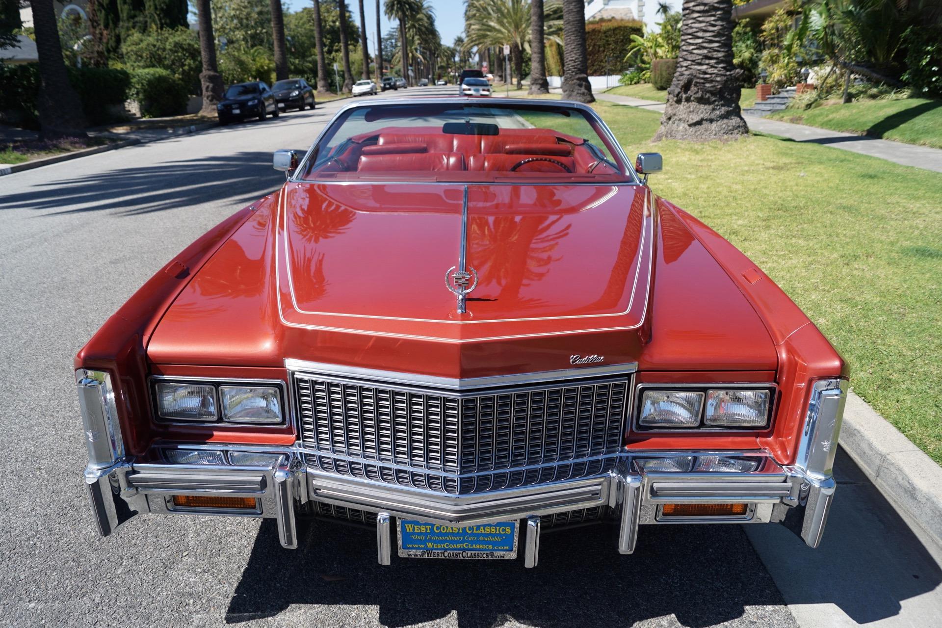 1976 Cadillac Eldorado Leather Stock # 691 for sale near ...