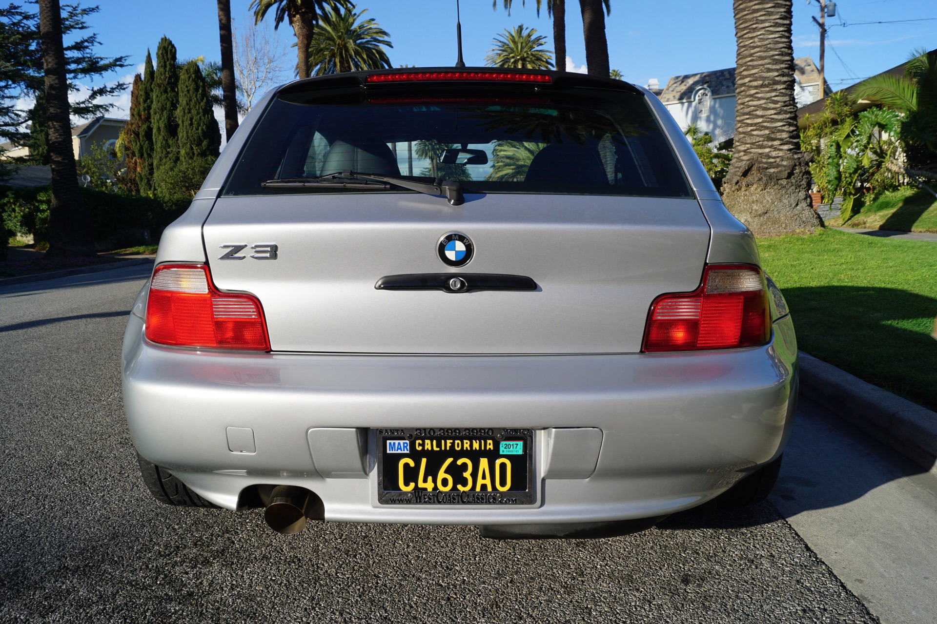 2000 Bmw Z3 Coupe 2 8 Stock 238 For Sale Near Torrance