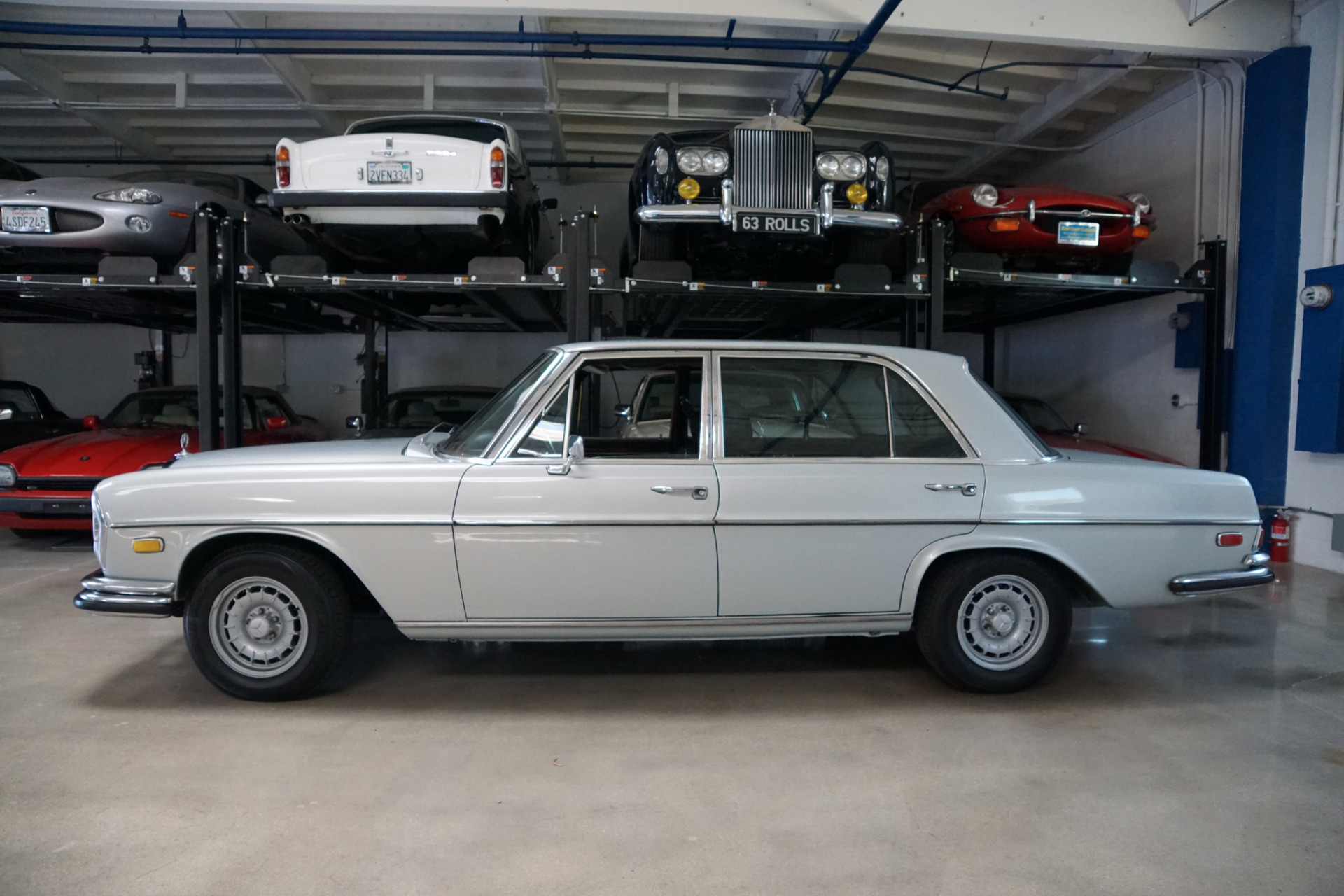 1969 Mercedes Benz 300sel 6 3 Black Leather Stock 340
