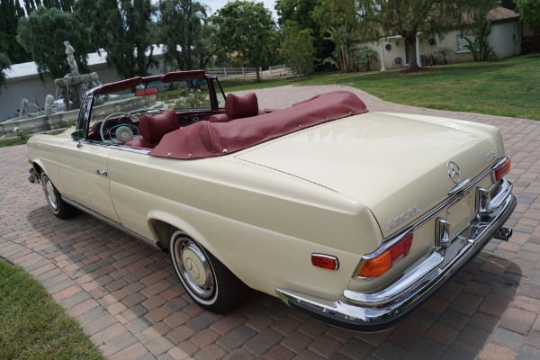 Used 1971 Mercedes-Benz 280SE Red Leather | Torrance, CA