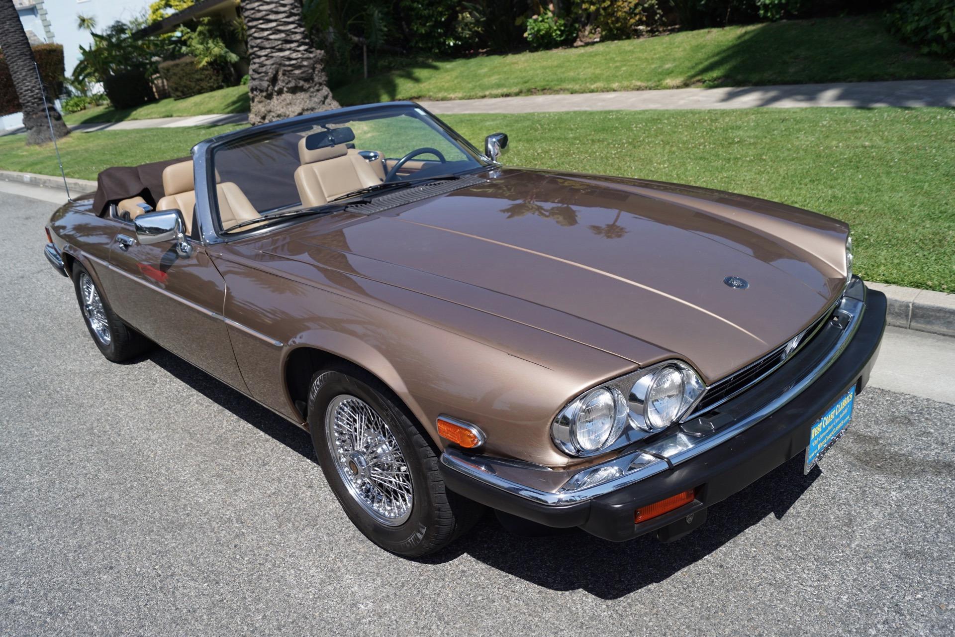 1990 Jaguar XJ-Series XJS Stock # 627 for sale near ...