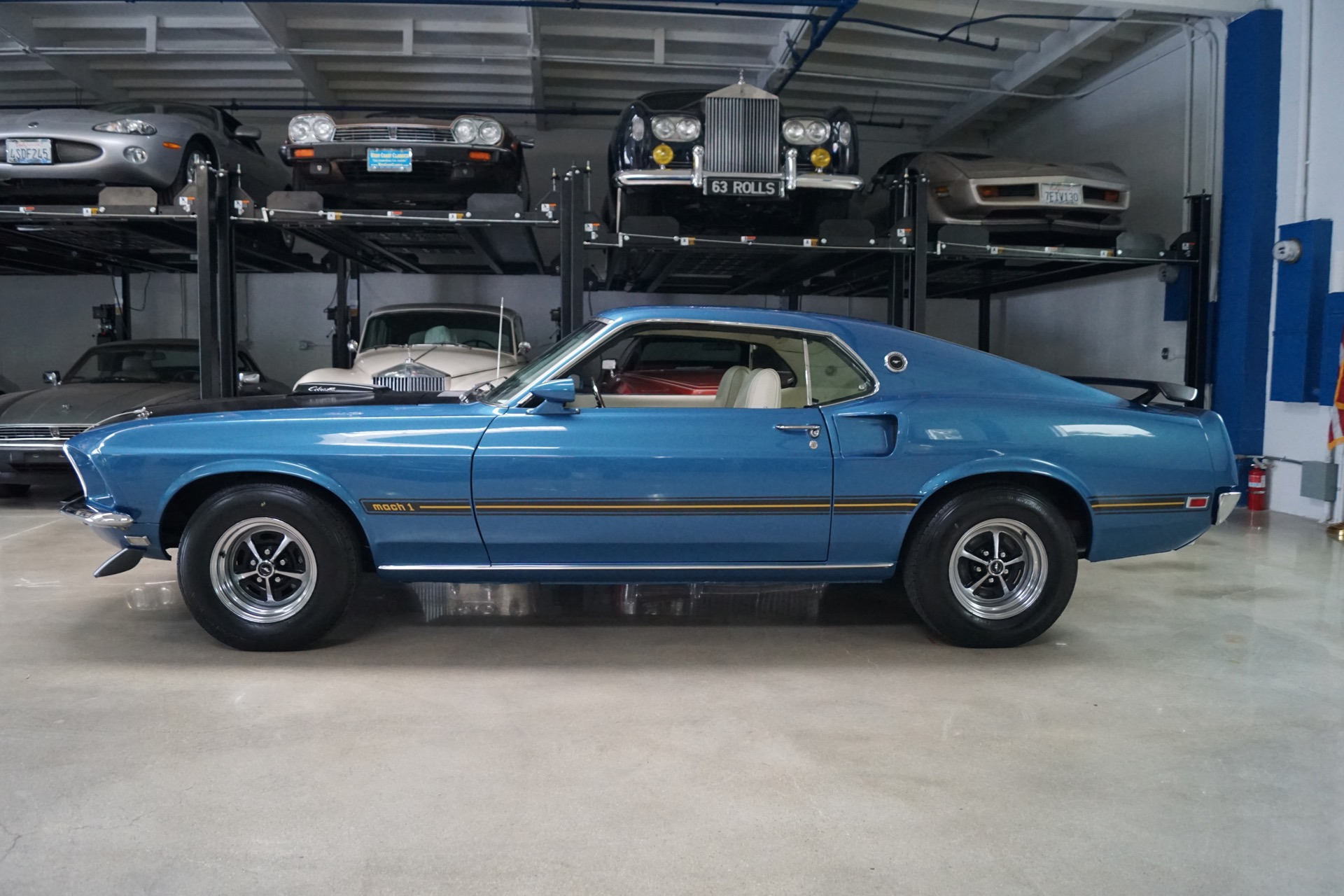1969 Ford Mustang Mach 1 428 335hp V8 Cobra Jet Stock 953 For Sale Shaker Scoop Used Torrance Ca