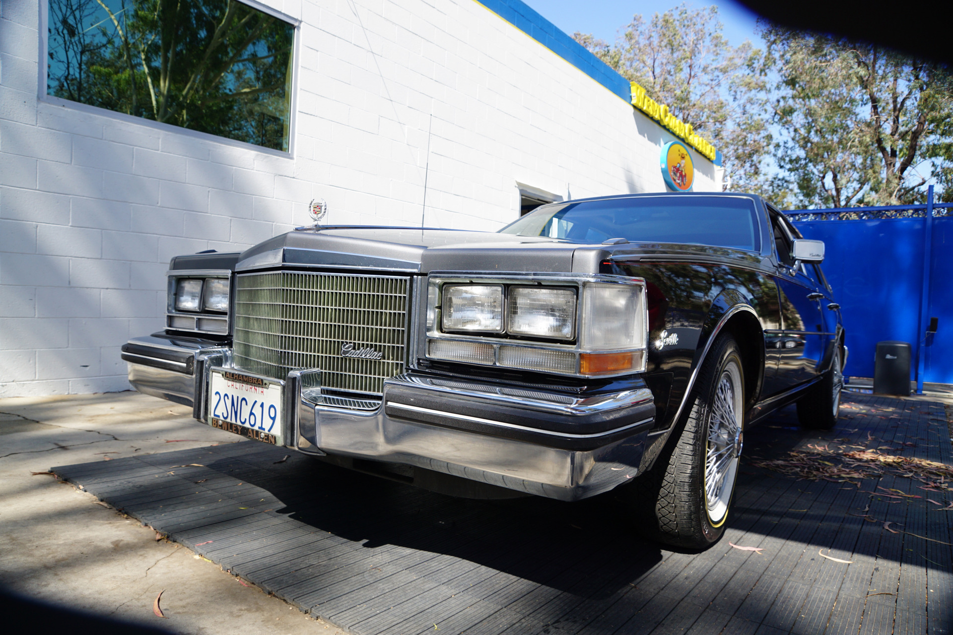 1985 Cadillac Seville Gray Leather Stock 085 For Sale Near