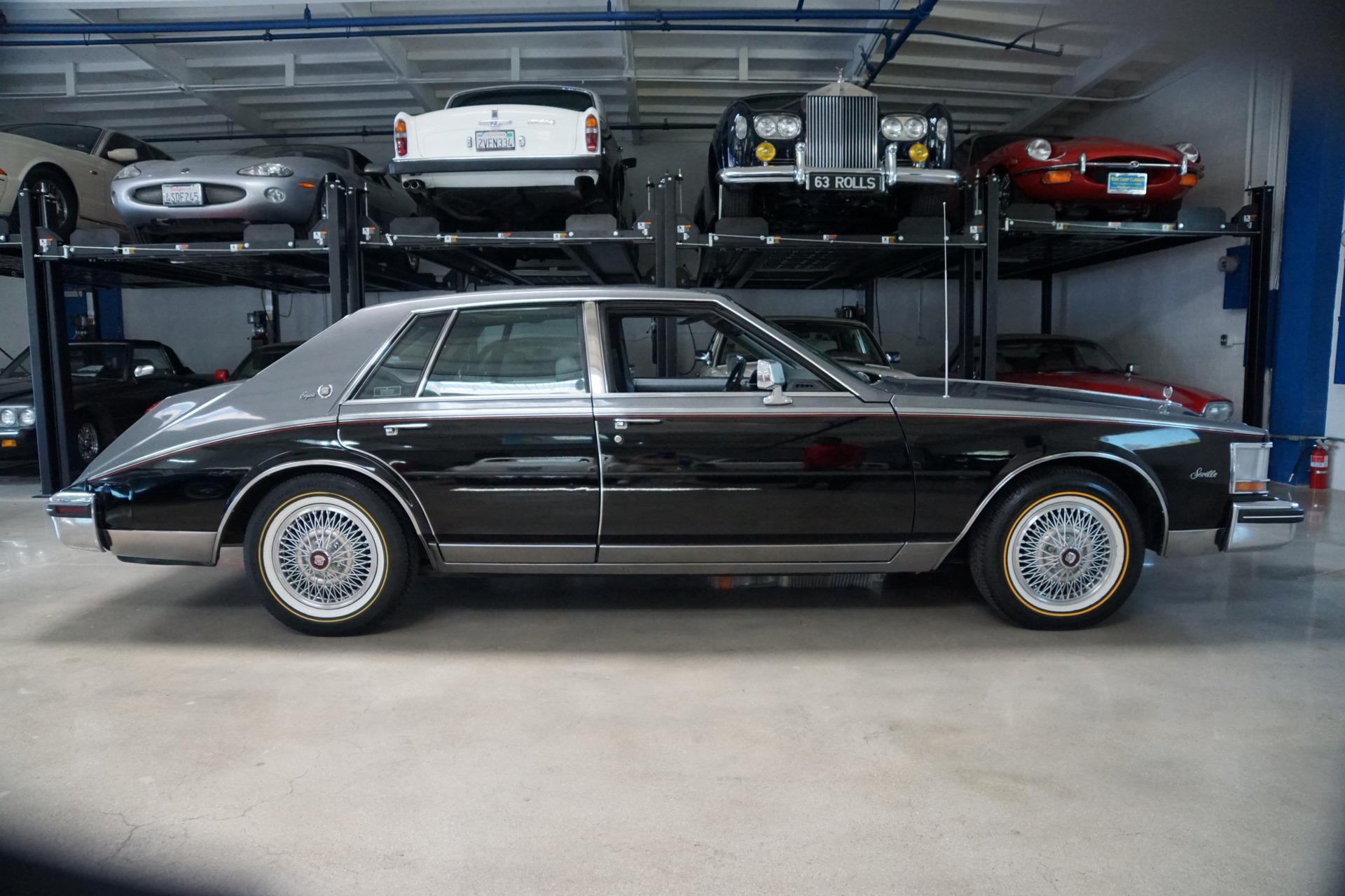1985 Cadillac Seville Gray Leather Stock 085 For Sale Near 1978 Deville Paint Colors Used Torrance Ca