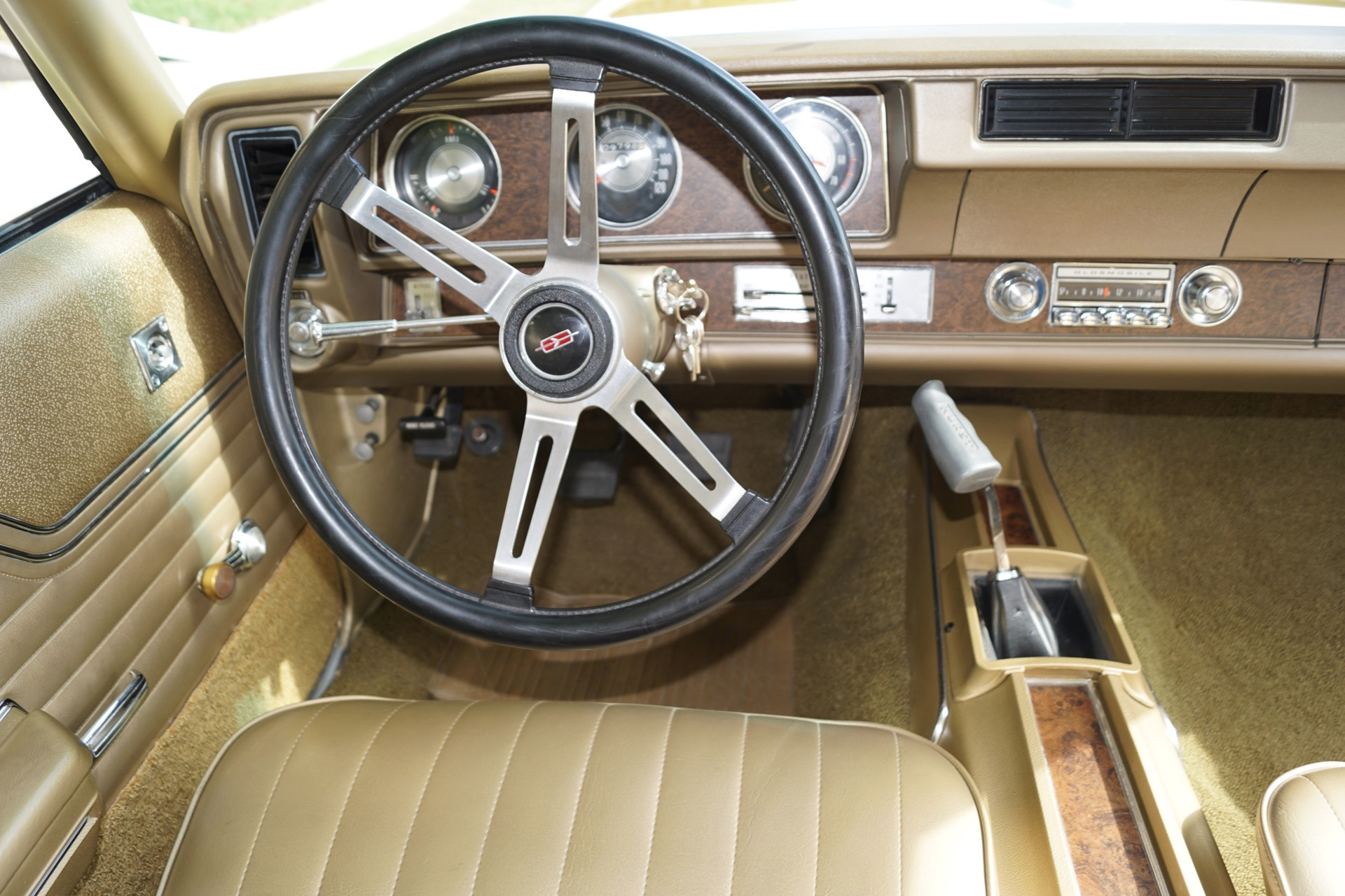 1970 Oldsmobile 442 Gold Bucket Seats Stock # 230 for sale