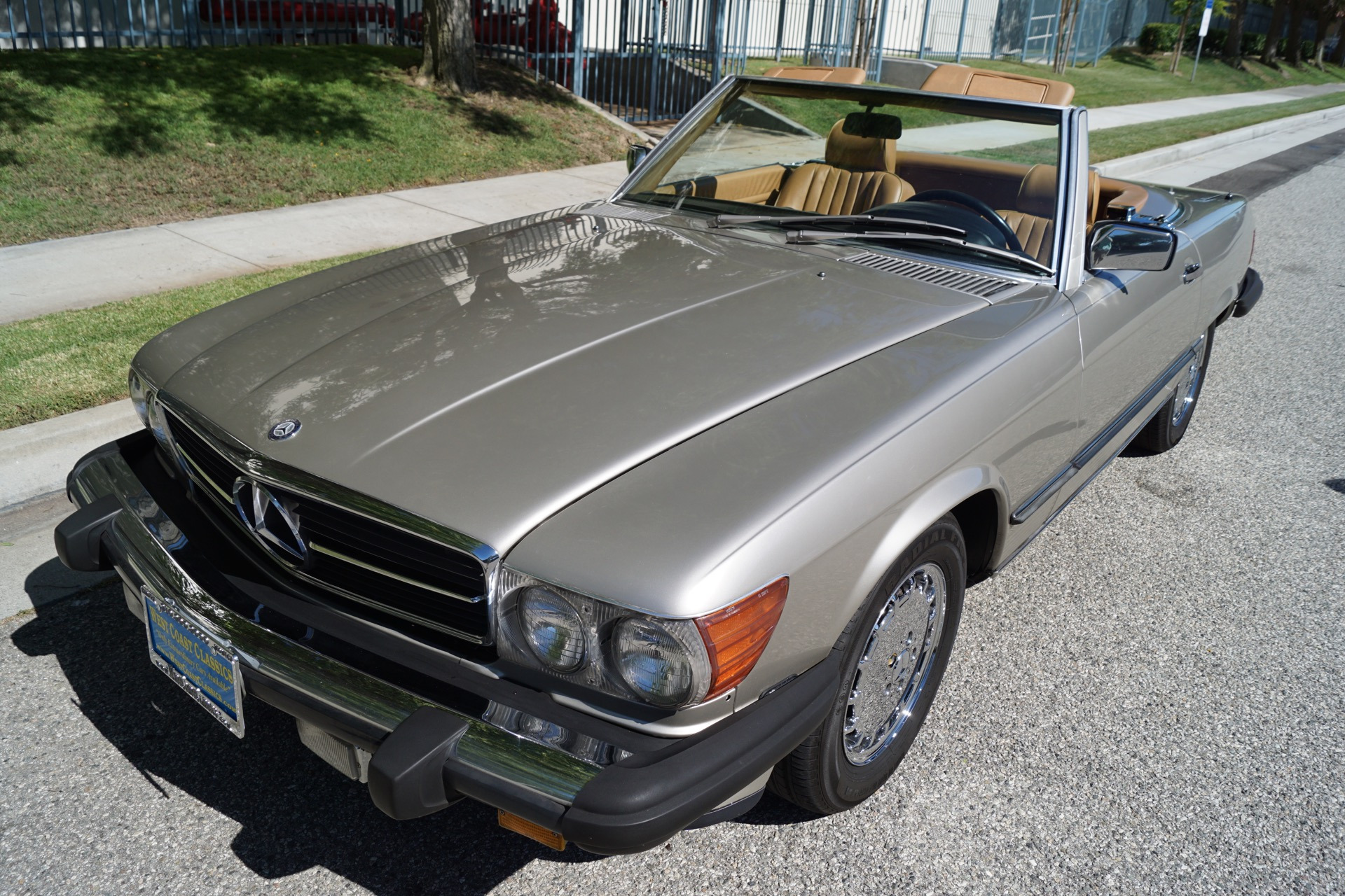 1988 mercedes benz 560 class 560 sl stock 121 for sale for Mercedes benz torrance